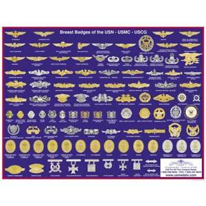 US-Navy-USMC-USCG-Badge-Poster