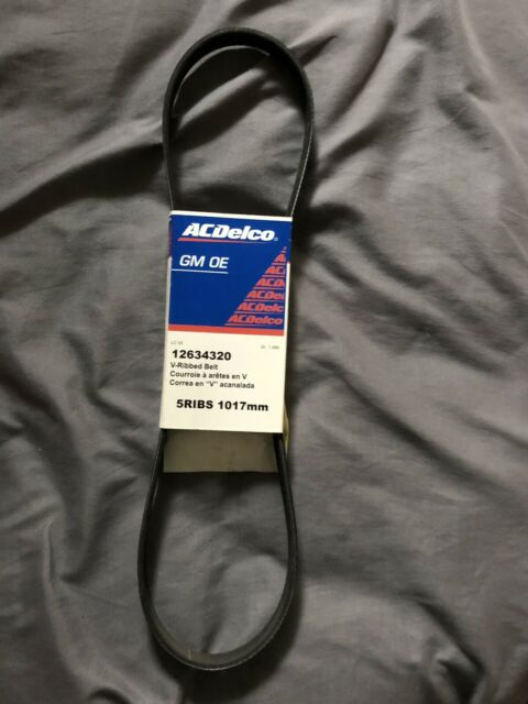 ACDelco 12634320 GM Original Equipment V-Ribbed Serpentine Belt