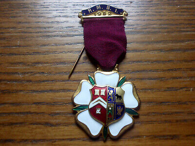 1952 Original Orden Abzeichen Freimaurer Medaille GroßE Vielfalt
