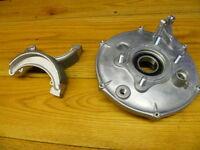 Honda Trx 300 Trx300 Fourtrax 4x4 4x2 Rear Brake Drum Backing Plate & Shoes