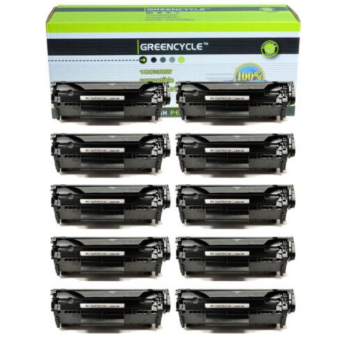 10PK Q2612A 12A Toner Cartridge Compatible For HP LaserJet 1012 1022 3020