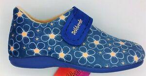 Slippers - Ladies - Ankle Bootie- Adjustable   - DeValverde 9725  - Blue