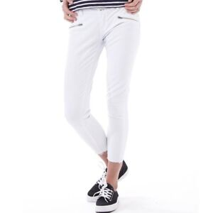 W27 L32 Superdry Leila Super Skinny Crop Jeans BNWT Optic White