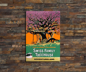 0267 Disney Swiss Family Treehouse