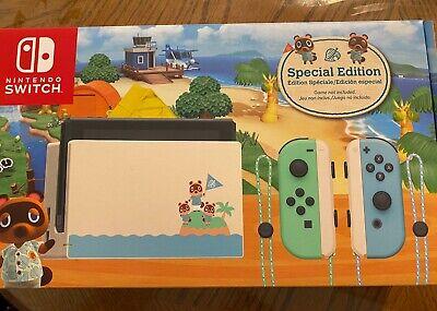 Nintendo Switch HAC-001(-01) Animal Crossing: New Horizon ...