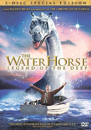 The Water Horse Legend Of The Deep DVD, 2008, 2-Disc Set, Special Edition  - $0.99
