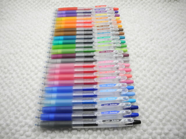 24Colors NEW Pilot retractable Juice 0.5mm gel ink/ball point pen w/case(Japan)