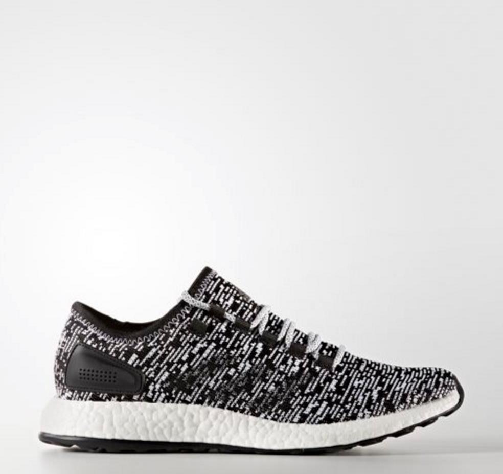[Adidas] BA8890 Pure Boost Oreo noir blanc hommes femmes Unisex Running Chaussures