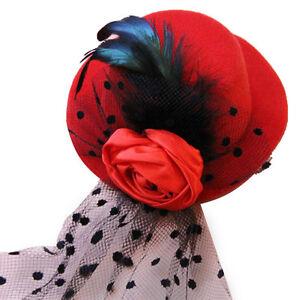 DéSintéRessé Expédié De Paris - Mini Bibi Chapeau Tulle Dentelle Fleurs Clous Gothique Lolita