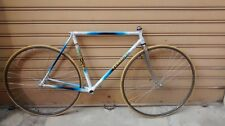 Telaio bici da corsa TESSIORE 53x52 tubi in acciaio old frame vintage campagnolo
