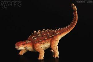 REBOR Ankylosaurus Magniventris War Pig Woodland 1:35 Scale Dinosaur Figurine