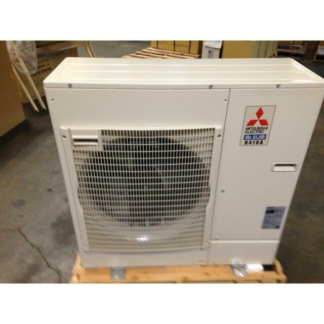 "MITSUBISHI PUZ-A24NHA4 24,000 BTU ""P"" OUTDOOR MINI-SPLIT HEAT PUMP, 17 SEER"