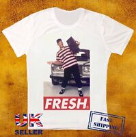 Fresh Prince Bel Air Dope Hipster Will Smith Trill Obey  Swagg White T-shirt 227