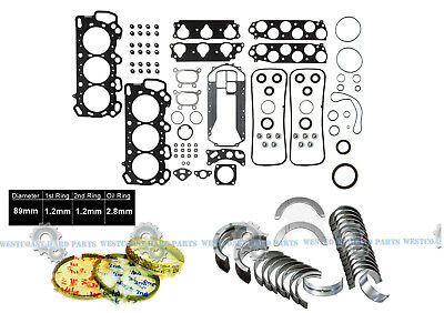 05 06 07 08 Acura RL//TL Type-S  3.5L SOHC V6  J35A8  MAIN /& ROD BEARINGS