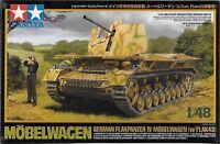 1/48 Tamiya 32573 - Flakpanzer Iv Mobelwagen Flak 43 3.7mm Plastic Model Kit