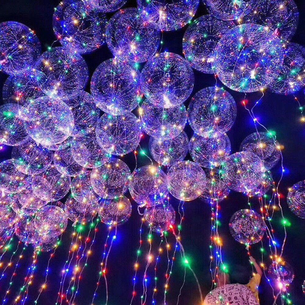 10 50Pcs LED 3M Balloon Leucht Luftballon Geburtstag Hochzeit Weihnachten Ballon   Erlesene Materialien    Guter weltweiter Ruf