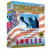 8 Cd English For Spanish Speakers Ingles Pimsleur Esl (16 Lessons)