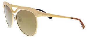 Mcm Mcm105s 717 Shiny Gold Tea Cup Sunglasses à Tout Prix