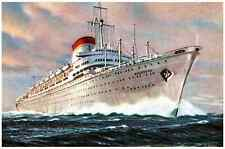 Vintage Ship 060 A4 Photo Print