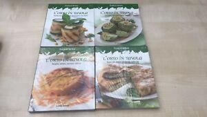 Lotto-libri-di-cucina-L-039-ORTO-IN-TAVOLA-Nuovo