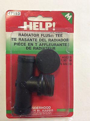 47153 Dorman Radiator Flush Tee 3//4 In.