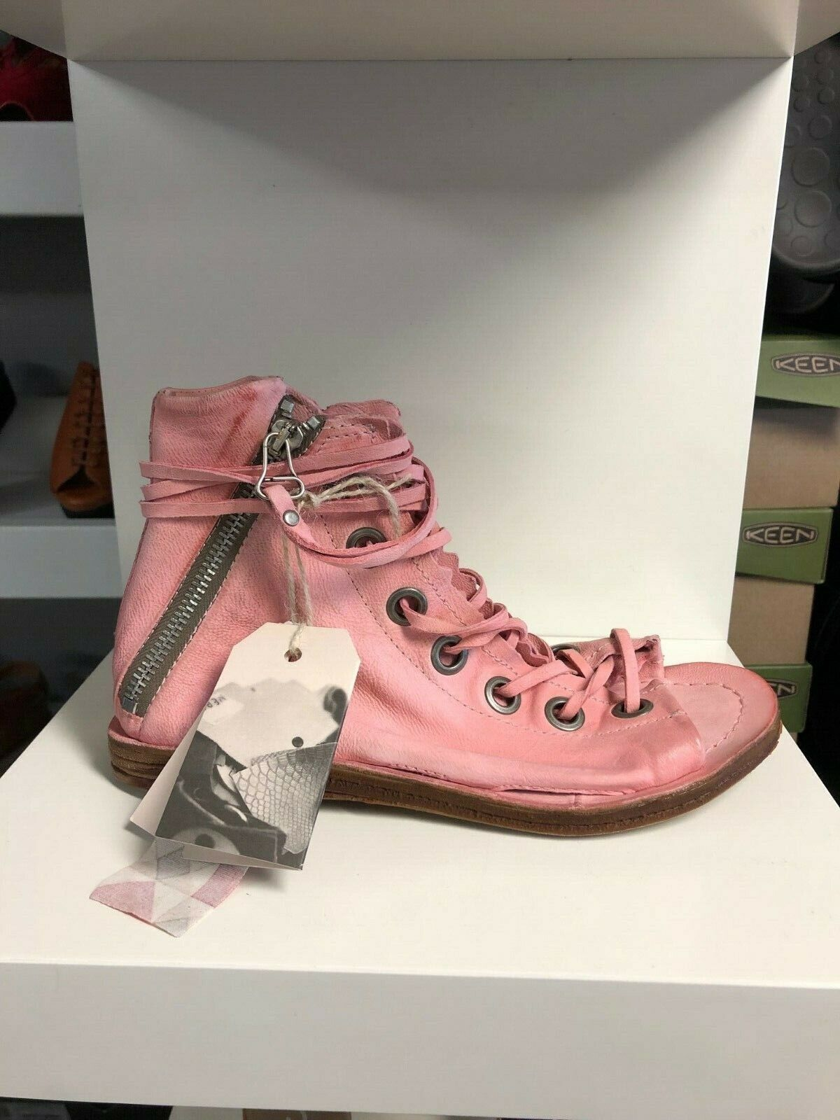 A.s.98 Regal Gladiator Dolly Pink Sandal Women's sizes 36-41 NEW