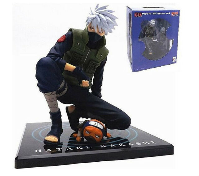 """6"""" Anime NARUTO Shippuden Kakashi Hatake Ver.2 Figure Kid Toy Birthday Gift"""