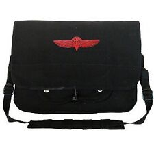 Rothco 8127 Canvas Israeli Paratrooper Bag - Black