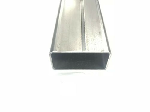 "1 1//2/"" X 3/"" X 1//8/"" Wall Steel Rectangle Tube 48/"" Long"