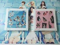 TWICE 2ND MINI ALBUM - PAGE TWO CD+folded poster+ 3photocard+ free shipping