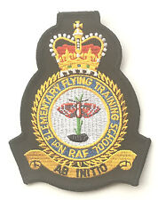 No. 1 RAF Royal Air Force EFTS Flying Training School Military Embroidered Patch