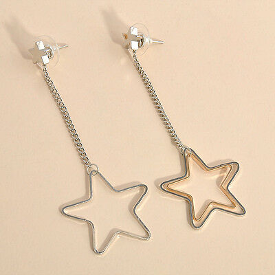 Korean Style Charm Ear Stud Woman Lady Crystal Flower Drop Long Dangle Earrings