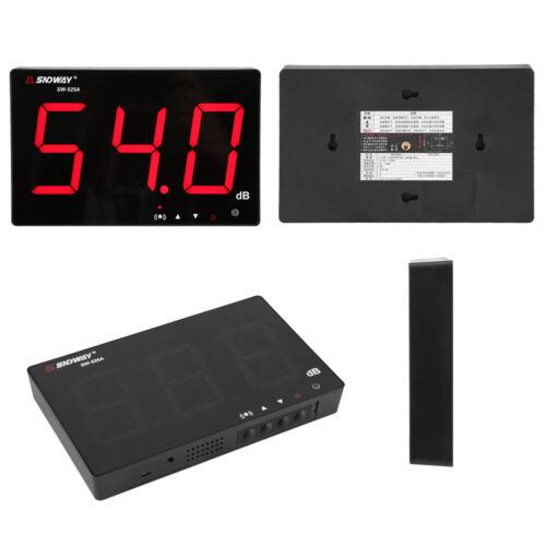 """Digital  9.6/"""" LCD Noise Level Meter Schallpegelmesser 30~130dB Geräusch Tester"""