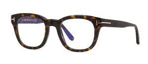 9f5a15397545 Tom Ford FT 5542-B BLUE BLOCK Dark Havana (052) Eyeglasses ...