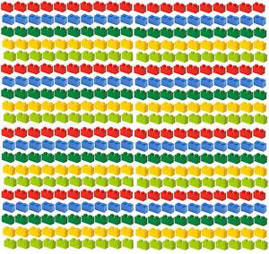 400x-NEW-LEGO-1x2-MIX-Bricks-3004-BULK-Parts-Building-Red-Yellow-Blue-Green