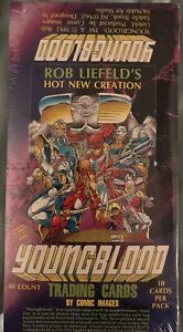 Youngblood-Trading-Cards-48-Packs-NEW-SEALED-Rob-Liefeld-Image-Comics