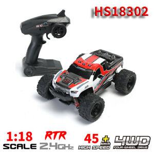 HS18302-1-18-escala-45km-h-de-alta-velocidad-automovil-de-carrera-Juguete-de-vehiculo-4WD-2-4GHz-RC