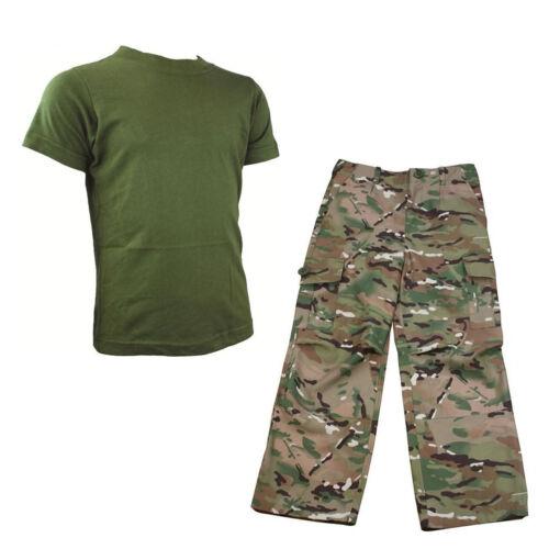 Armee Kostüm Soldat Outfit Kinder Packung 1 Hmtc Mtp Tarnfarbe Match
