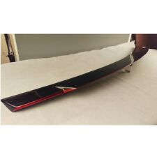 NEW Carbon + RED C74 Style BENZ W204 4Dr 2008-2013 Trunk Lip Spoiler C300 C250