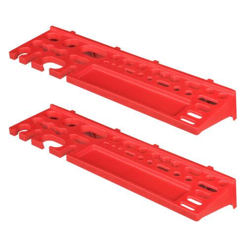 Stecktafeln aus Kunststoff Werkzeughalter rot 2 Stck ITBP390S