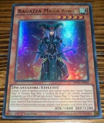 RAGAZZA MAGA KIWI MVP1-IT016 Ultra Rara in Italiano YUGIOH