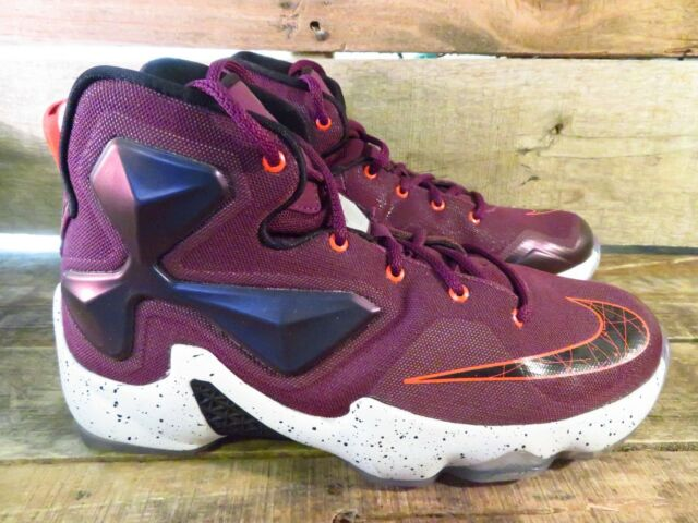 best loved 66f40 96343 Nike LEBRON XIII 13 GS Youth Shoes Size 6.5Y 808709-500 Mulberry Purple  Black