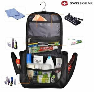 Details About Swiss Gear Toiletries Cosmetic Bag Hanging Travel Products Camping Wash Totes