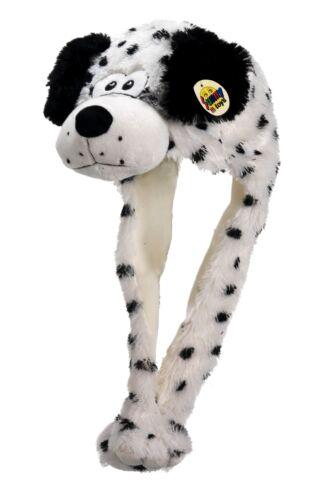 Tier Mütze Plüsch Mütze Hund Dalmatiner