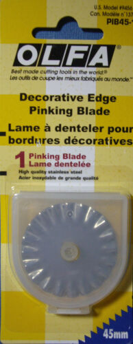 Your Choice Design Pinking Wave Scallop 45mm NEW OLFA DECORATIVE EDGE BLADE