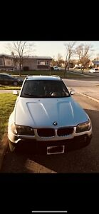 2004 silver BMW X3 for sale