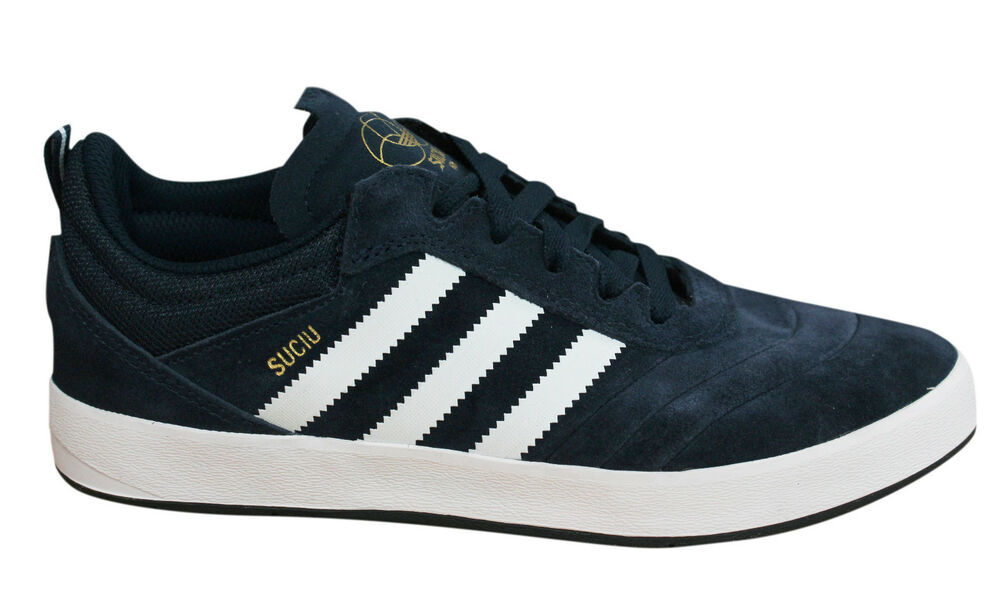 Adidas Originals Suciu Advance Baskets Homme Bleu Marine Cuir Daim BY3935 Po-