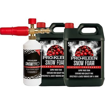Pro Kleen Snow Foam Lance Pressure Washer Jet Wash Bosch Aquatak Compatible Foam