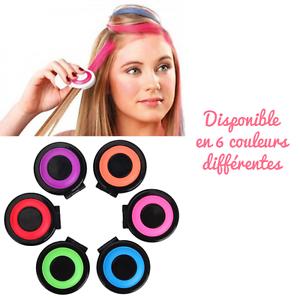 Pince clip colorante coloration temporaire 6 couleurs au choix pratique fun
