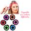 miniature 1 - Pince clip colorante coloration temporaire 6 couleurs au choix pratique fun